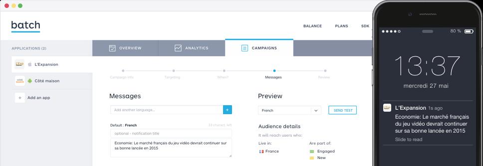 Batch Dashboard Screenshot